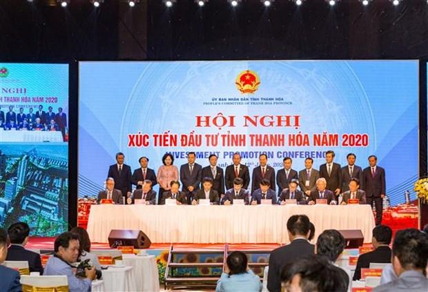 清化省在2020年清化省投资促进会议上招商引资125亿美元 hinh anh 1