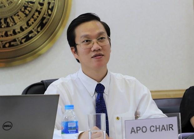 亚洲生产力组织新任主席何明协:加强APO与东盟的对接与合作 hinh anh 1