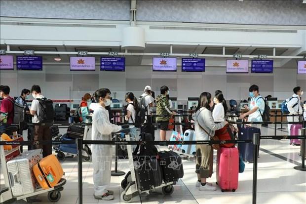 越南安排航班接343名在加拿大的越南公民回国 hinh anh 1