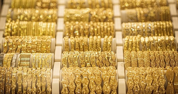 6月16日越南国内黄金价格略增 hinh anh 1