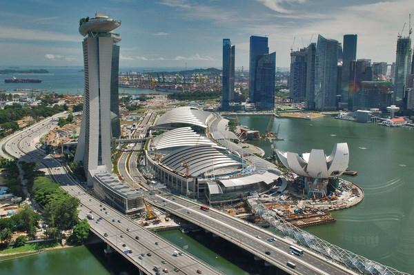 今年新加坡经济增长可下降5.8% hinh anh 1