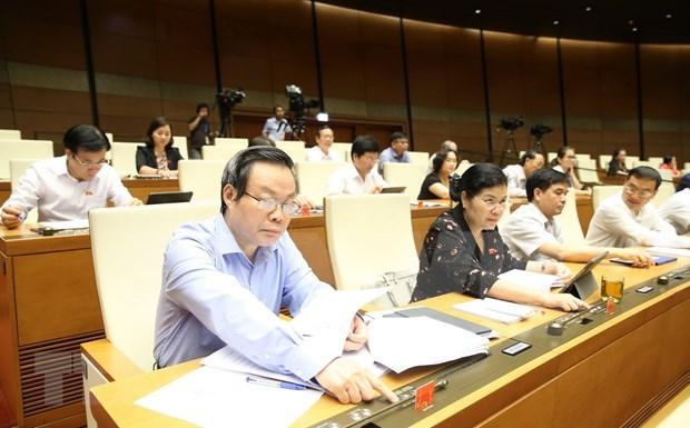 越南第十四届国会第九次会议公报(第十八号) hinh anh 1