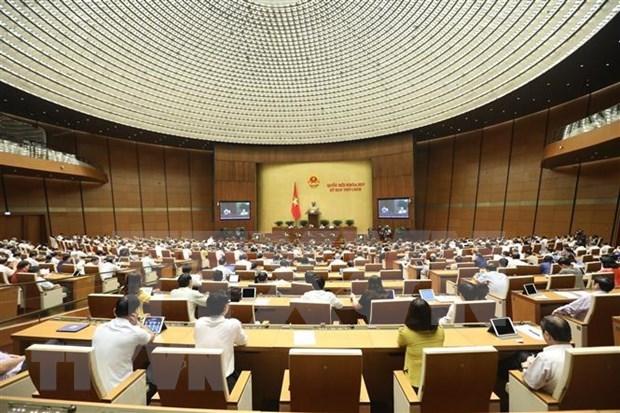 越南第十四届国会第九次会议:坚持捍卫国家领土主权和边界安全 hinh anh 1