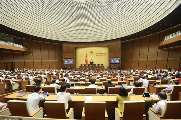 越南第十四届国会第九次会议表决通过《青年法》(修正案)和《法院调解与对话法》 hinh anh 2