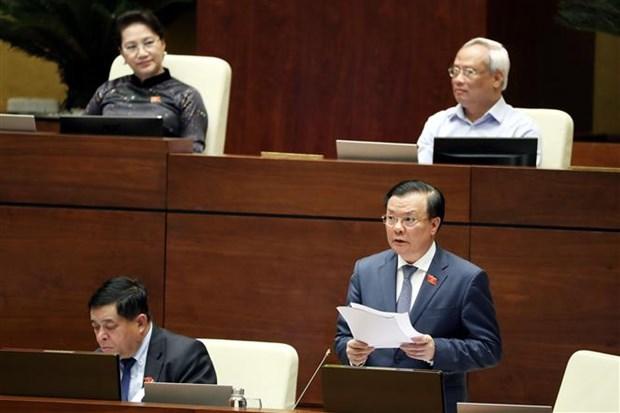 越南第十四届国会第九次会议表决通过《青年法》(修正案)和《法院调解与对话法》 hinh anh 1