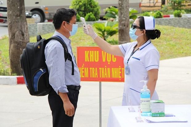 新冠肺炎疫情:从中东回国的264名越南公民将在巴地头顿省接受隔离 hinh anh 1