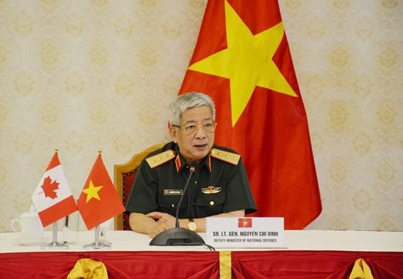 促进越南与加拿大和澳大利亚之间的防务合作 hinh anh 1