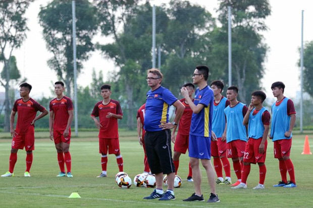 越南男足U19队召集球员 为2020年东南亚U19足球锦标赛做准备 hinh anh 1