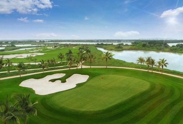 越南新三项高尔夫球场项目的投资主张获批 hinh anh 1