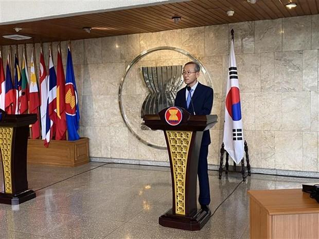 2020东盟轮值主席年:韩国协助东盟提升新冠肺炎疫情早期发现能力 hinh anh 1