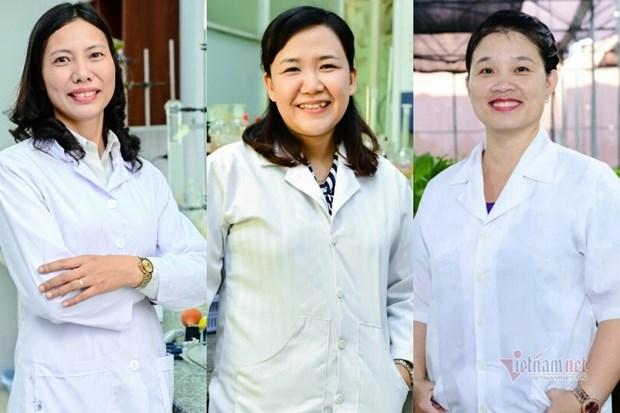 越南三名女科学家跻身亚洲100名杰出科学家名单 hinh anh 1