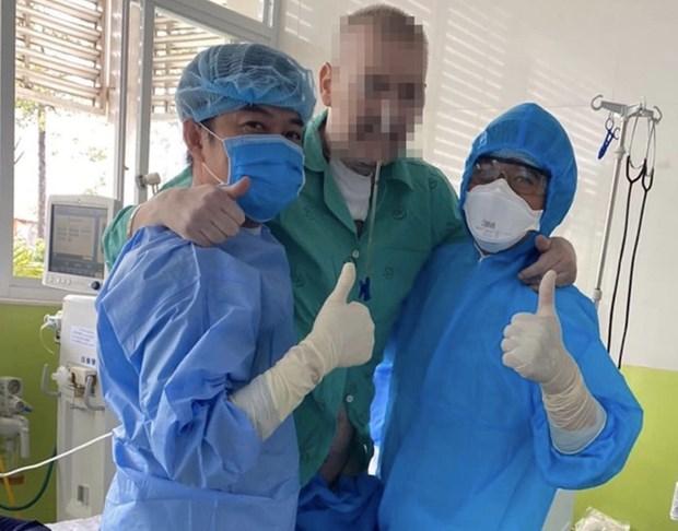 越南连续63天无新增本地病例 10名患者当中有4名患者二次以上检测结果呈阴性反应 hinh anh 2