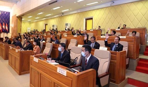 柬埔寨参议院通过了《反洗钱和恐怖融资法》 hinh anh 1