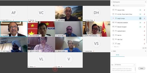 越南敦促印度消除对越南商品实施的贸易救济和贸易限制措施 hinh anh 1