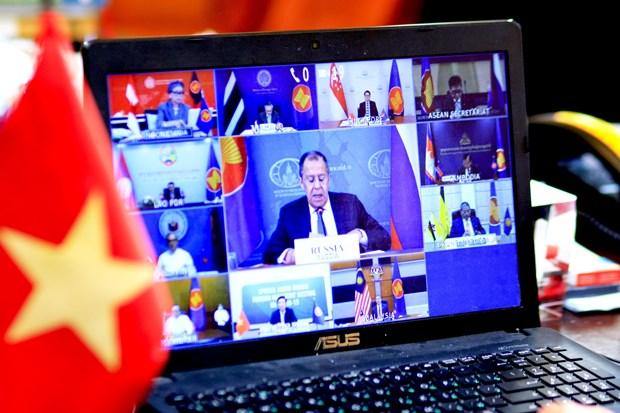 俄罗斯外长:俄罗斯不断在越南担任东盟轮值主席国期间给予大力支持 hinh anh 1
