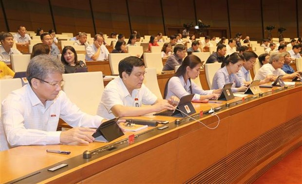 越南国会通过关于根据EVIPA规定承认和执行争端解决机构判决的决议 hinh anh 1