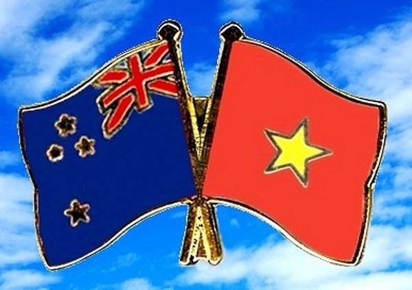 越南与新西兰建交45周年的贺电 hinh anh 1