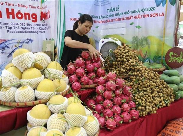 越南河内市商品周展销会在河内开幕 hinh anh 2