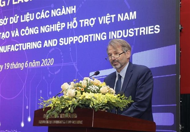 越南辅助工业数据库系统正式亮相 hinh anh 3