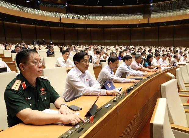 第十四届国会第九次会议:为2020年营业额在2000亿越盾以下的企业减税 hinh anh 1