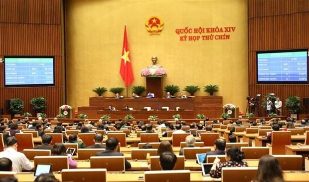 越南第十四届国会第九次会议圆满闭幕 通过了10项法律和21项决议 hinh anh 3