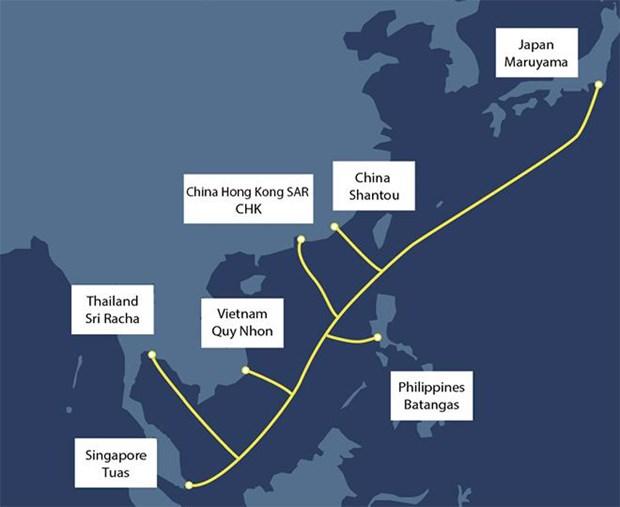 越南新建一条连接越南与亚洲国家的海缆 hinh anh 2