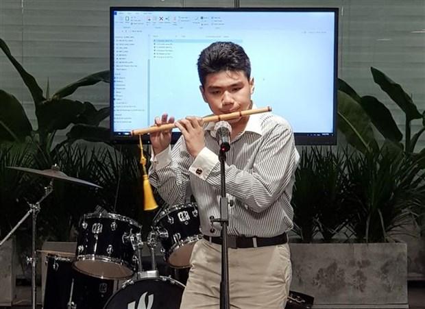越法民间交流音乐会在胡志明市举行 hinh anh 2