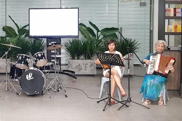 越法民间交流音乐会在胡志明市举行 hinh anh 1