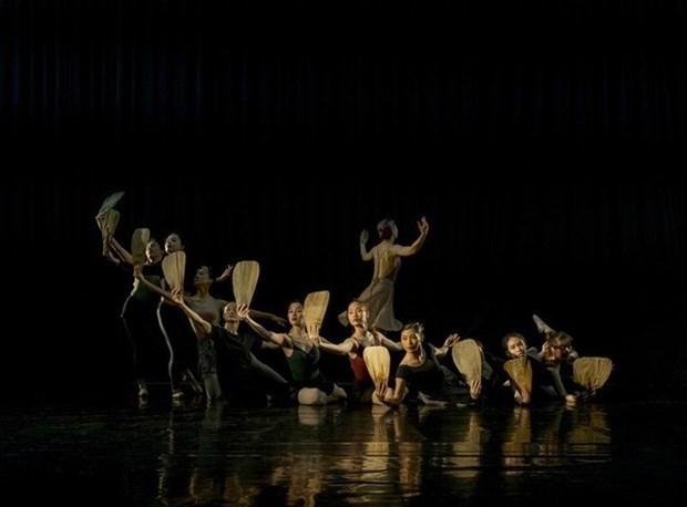 芭蕾舞剧《金云翘传》在越南首演 hinh anh 1