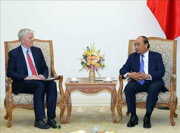 越南政府总理阮春福会见亚行驻越首席代表西奇威克 hinh anh 1