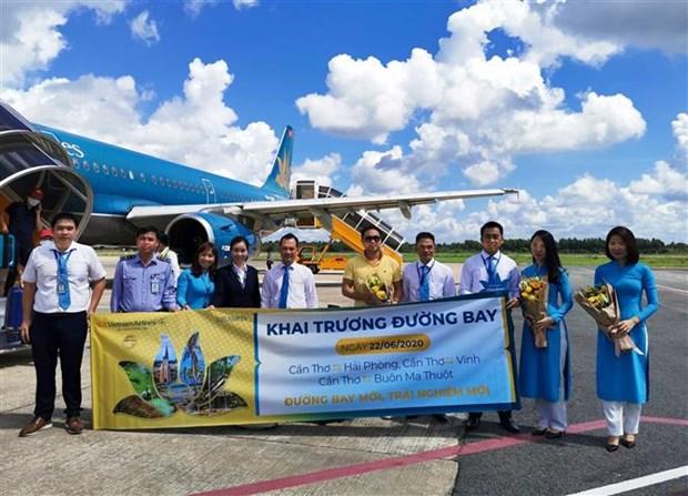 越南国家航空公司新开通三条航线 hinh anh 2
