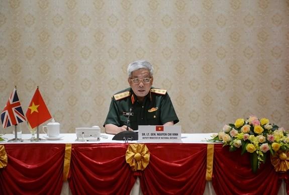 促进越南与英国之间的防务合作 hinh anh 1