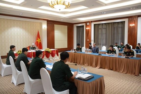 促进越南与英国之间的防务合作 hinh anh 2