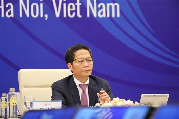 《区域全面经济伙伴关系协定》部长级视频会议召开 hinh anh 1
