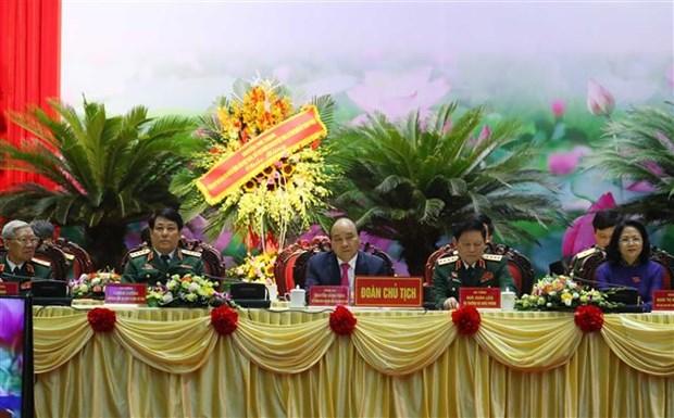 越南政府总理阮春福出席第十届全军决胜竞赛大会 hinh anh 3