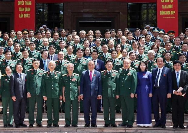 越南政府总理阮春福出席第十届全军决胜竞赛大会 hinh anh 1