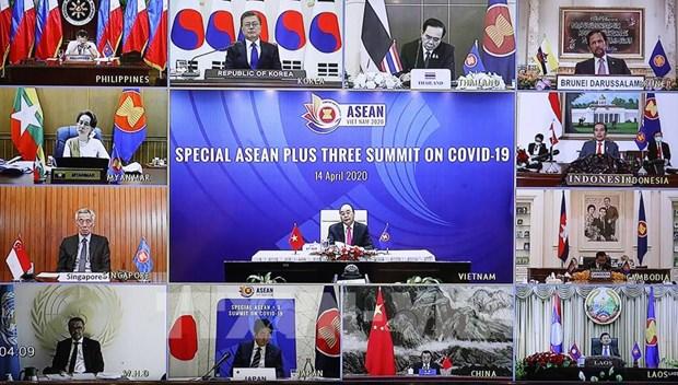 东盟与中韩日就应对金融危机的方案达成共识 hinh anh 1