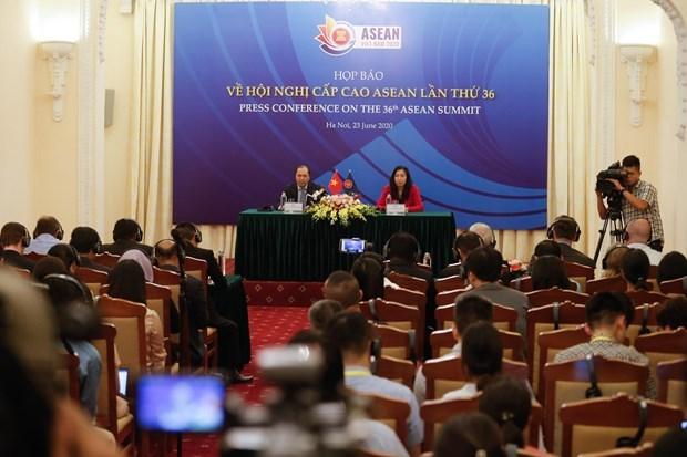 2020年东盟:促进建立强大的东盟共同体 hinh anh 1