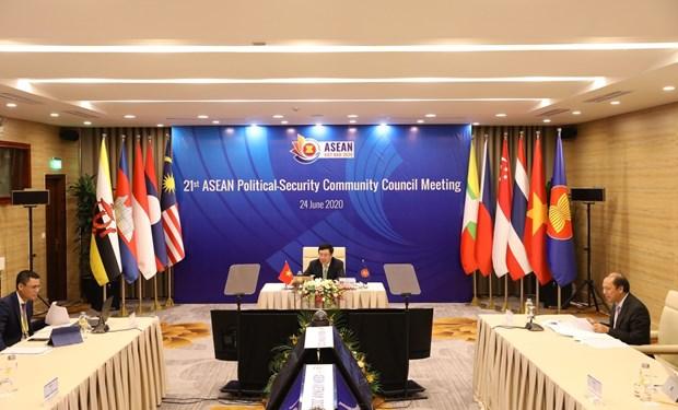 2020东盟轮值主席年:范平明主持召开第21次东盟政治安全共同体会议 hinh anh 1