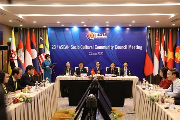 ASEAN 2020:面向一个团结协作 为人民带来利益的东盟共同体 hinh anh 1