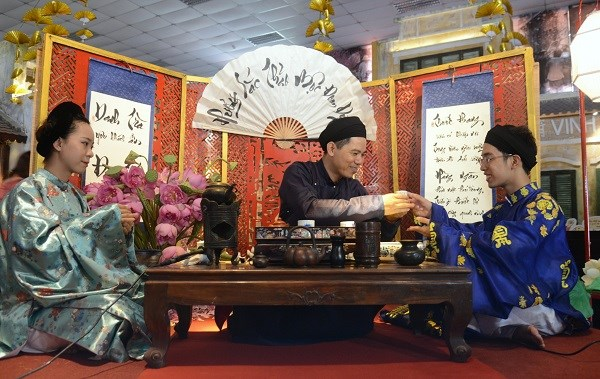 恰逢端午节观赏宫廷茶艺 hinh anh 1