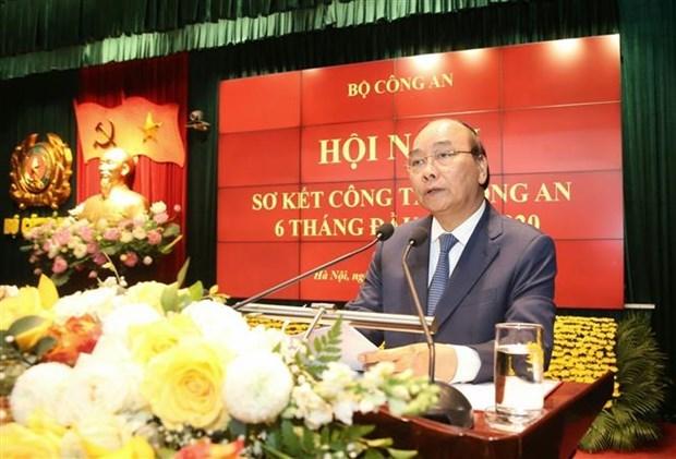 政府总理阮春福:全力确保党的各级代表大会绝对安全 hinh anh 1