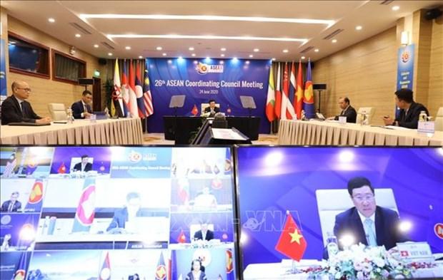 2020东盟轮值主席国年:老挝媒体密集报道东盟系列会议 hinh anh 1