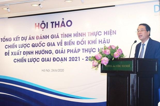 越南积极评估气候变化国家战略及行动计划的落实情况 hinh anh 1