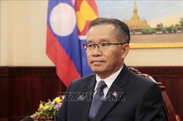 2020年东盟轮值主席年:老挝高度评价越南担任东盟轮值主席的作用 hinh anh 1