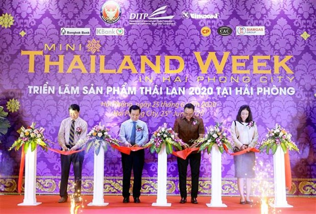 2020年泰国产品周在海防开幕 hinh anh 1