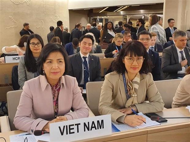 联合国人权理事会第43次会议通过许多重要文件 hinh anh 1