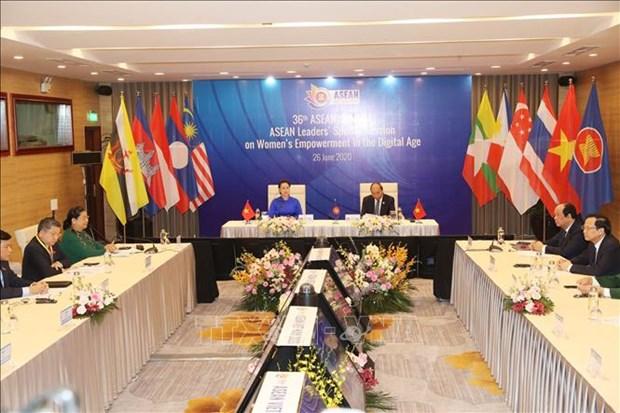 越南提出举办数字时代的妇女赋权特别会议的倡议 hinh anh 1