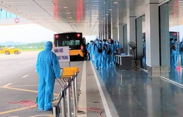 新冠肺炎疫情:越南新增一例境外输入性病例 hinh anh 1