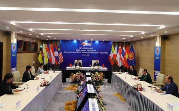 恢复经济增长面向建设一个强大的东盟共同体 hinh anh 1
